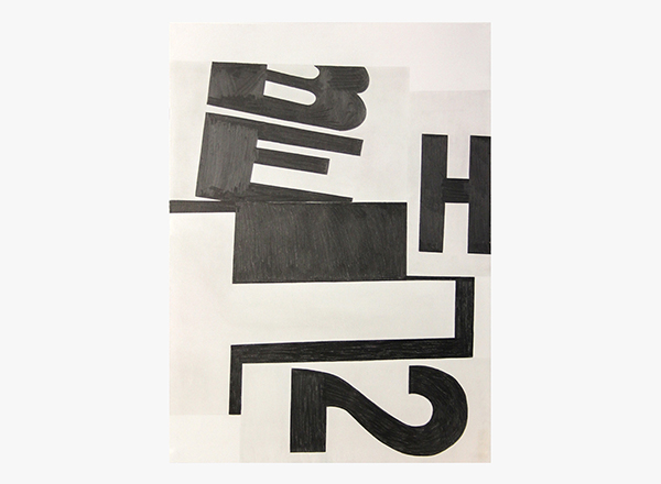 Image of HT2 / D.F. Graphite Drawing