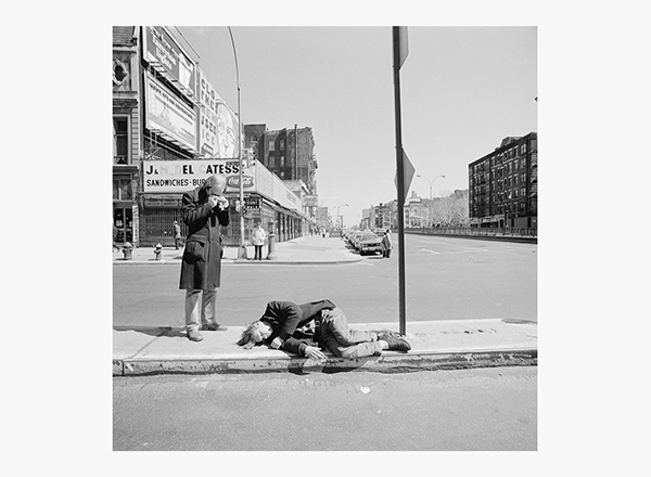 Image of Photographing on the Bowery