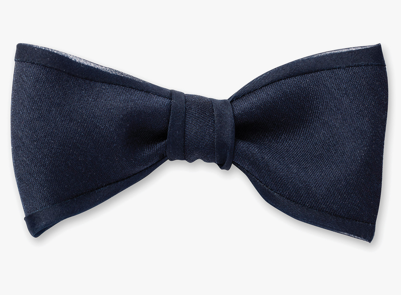 Image of Organza Piping Bowtie