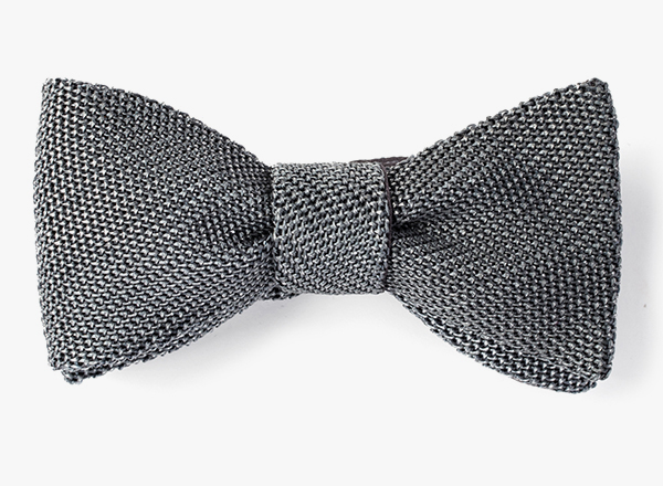 Sprayed Ombre Metallic Lurex Bowtie