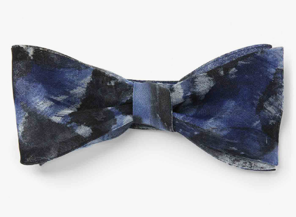 Image of Hand-Painted Canvas Bowtie