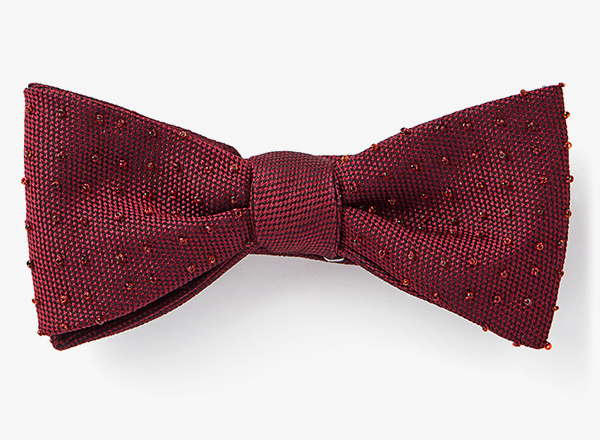 Image of Grid Beaded Bowtie
