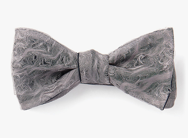 Image of Hand-Distressed Organza Bowtie
