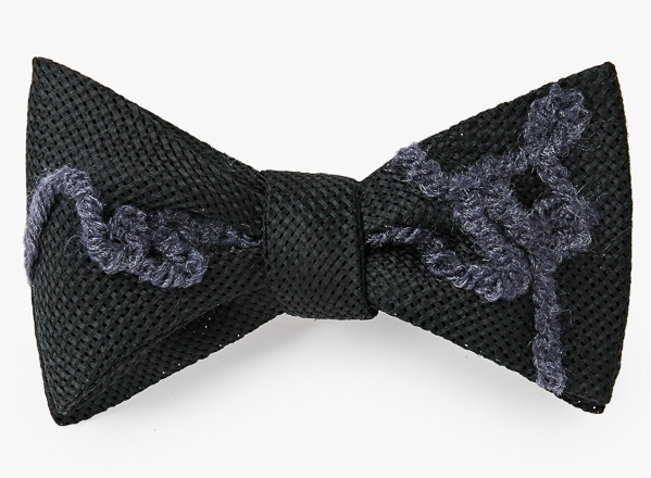 Image of Felted Yarn Bowtie