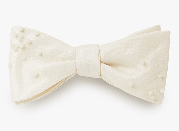 Image of Over and Under Beaded Organza Bowtie 809