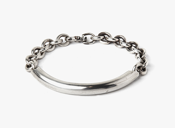 Image of 7.5mm to Round Cable Bracelet