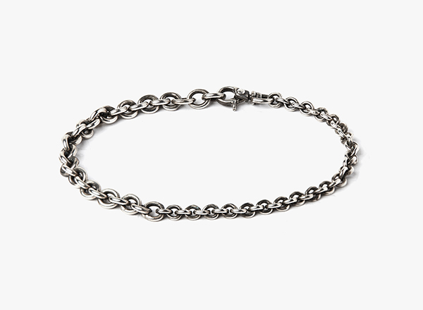 Title Of Work Mens Small/Large Cable Chain Bracelet BJqsHCfDp