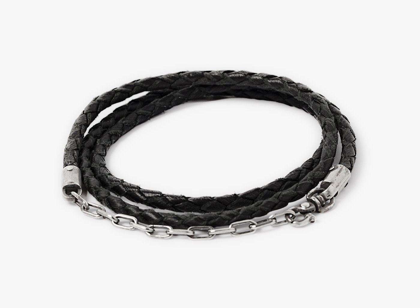 Image of Triple Wrap 3mm Cord / Anchor Bracelet