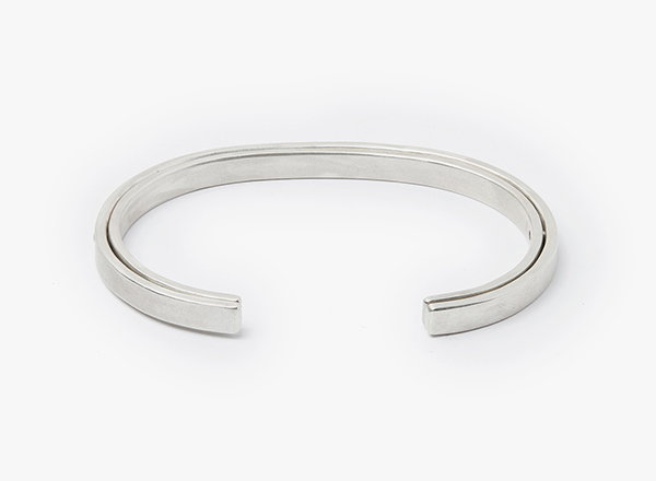 Image of 5x5mm Double Hinge Cuff Bracelet