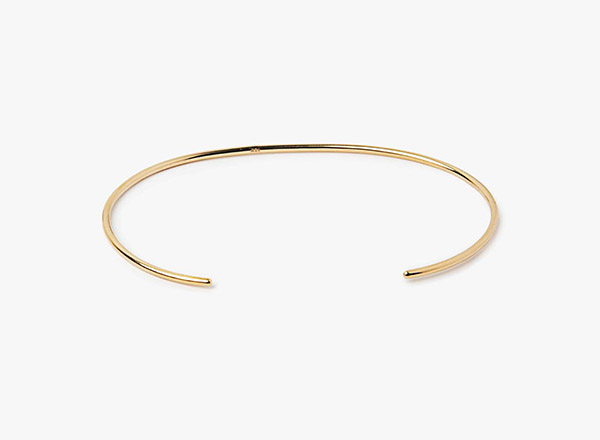 Image of 18k Yellow Gold Cuff Bracelet 236