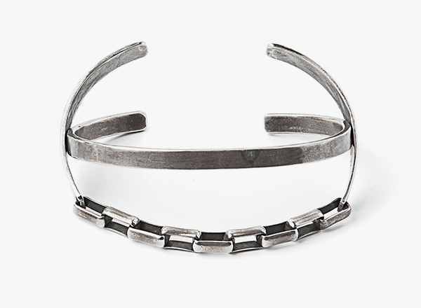 Image of Double Hinge Box Chain Bracelet