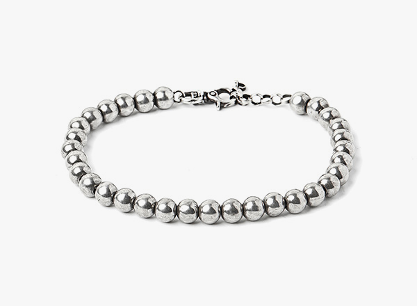 Image of Bead / Micro Curb Chain Bracelet 255