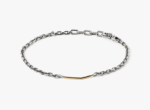 Image of Mixed Metals Bracelet 261