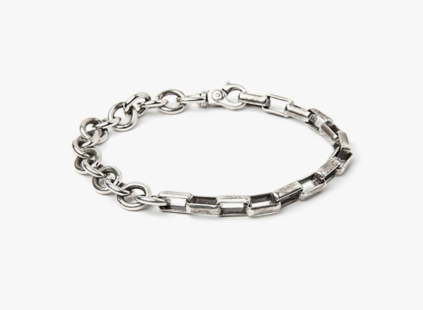 Image of Large Cable to Large Box Chain Bracelet 280