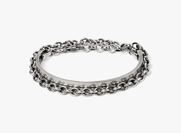 Image of Mixed Chain Bracelet 324