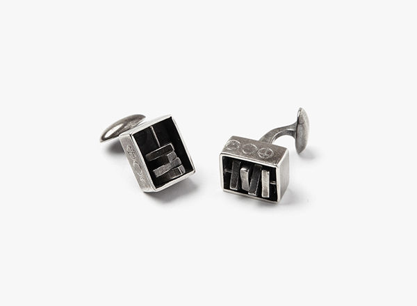 Image of Encased Spinners Cufflinks
