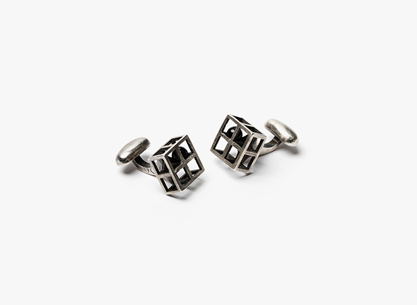 Image of 8 Grid w/ Onyx Cufflinks
