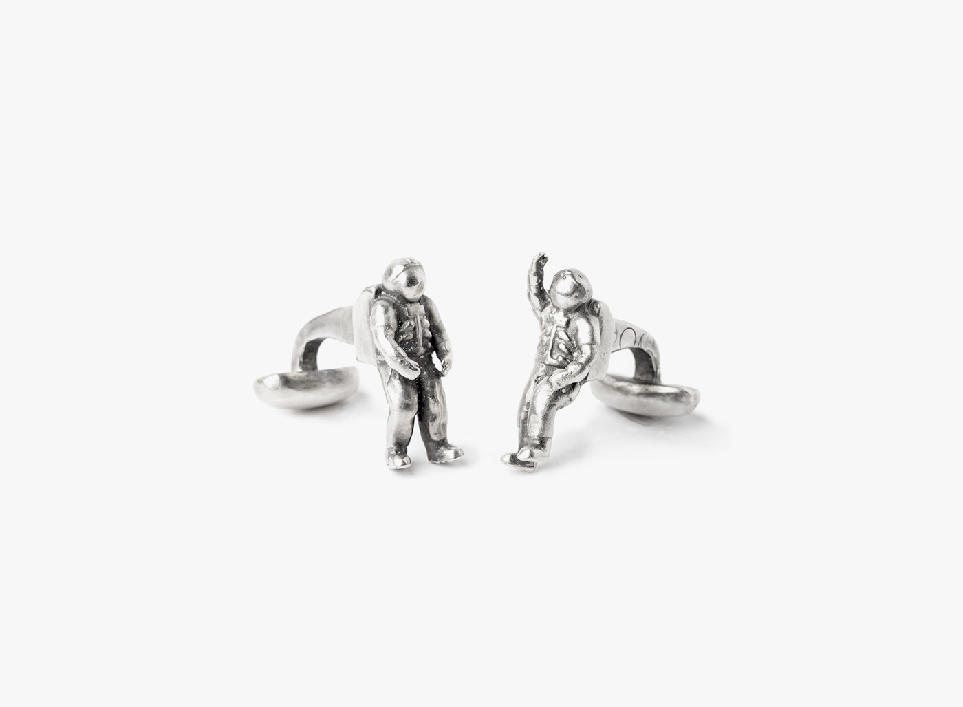 Image of Astronaut Cufflinks