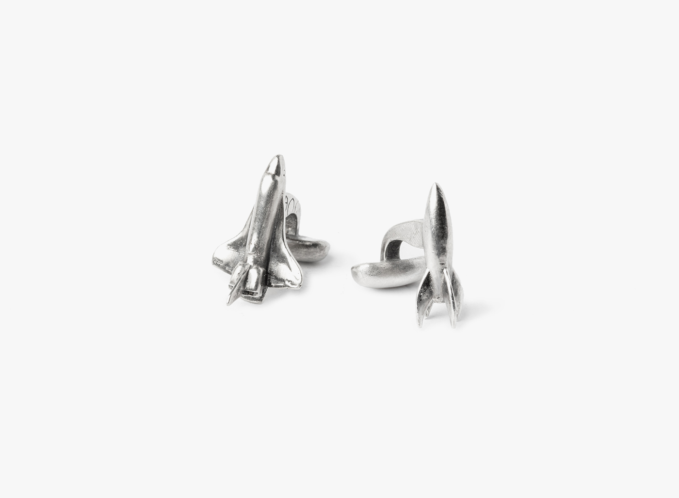 Image of Double Spaceship Cufflinks