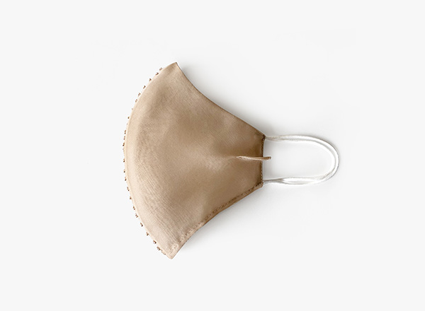 Image of center stitch seam face mask
