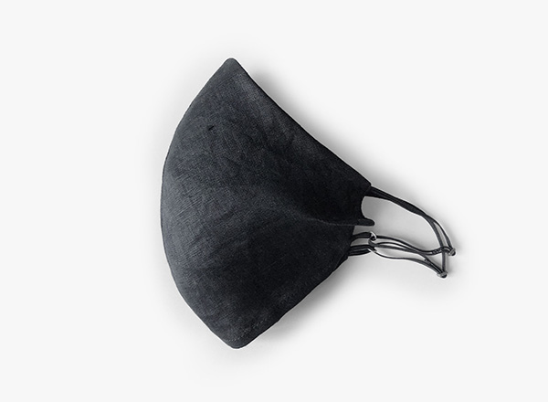 Image of Solid Linen Face Mask