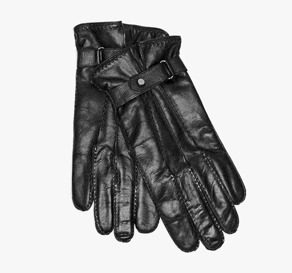 Image of Leather Strap Gloves