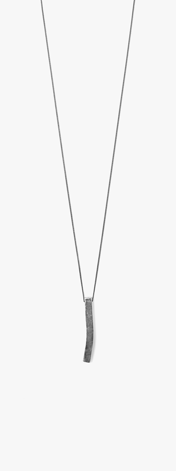 Image of Curved Bar Necklace 080