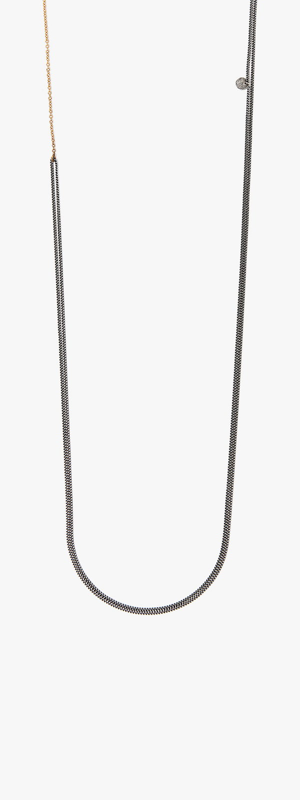 Image of Mixed Metal Necklace 093