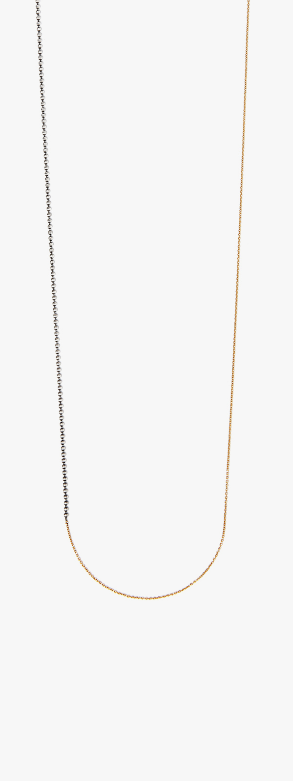 Image of Mixed Metal Necklace 094