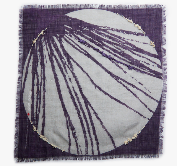 Image of Embroidered Seed Pocket Square