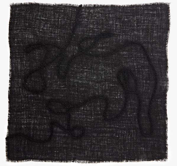 Image of Felted Yarn Pocket Square