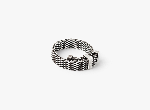 Image of Adjustable Mesh Ring