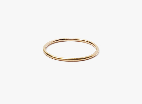 16 gauge 18kt rose gold