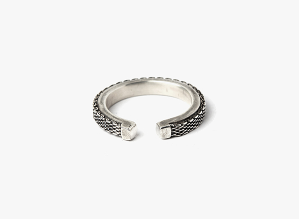 Adjustable Micro Mesh Ring