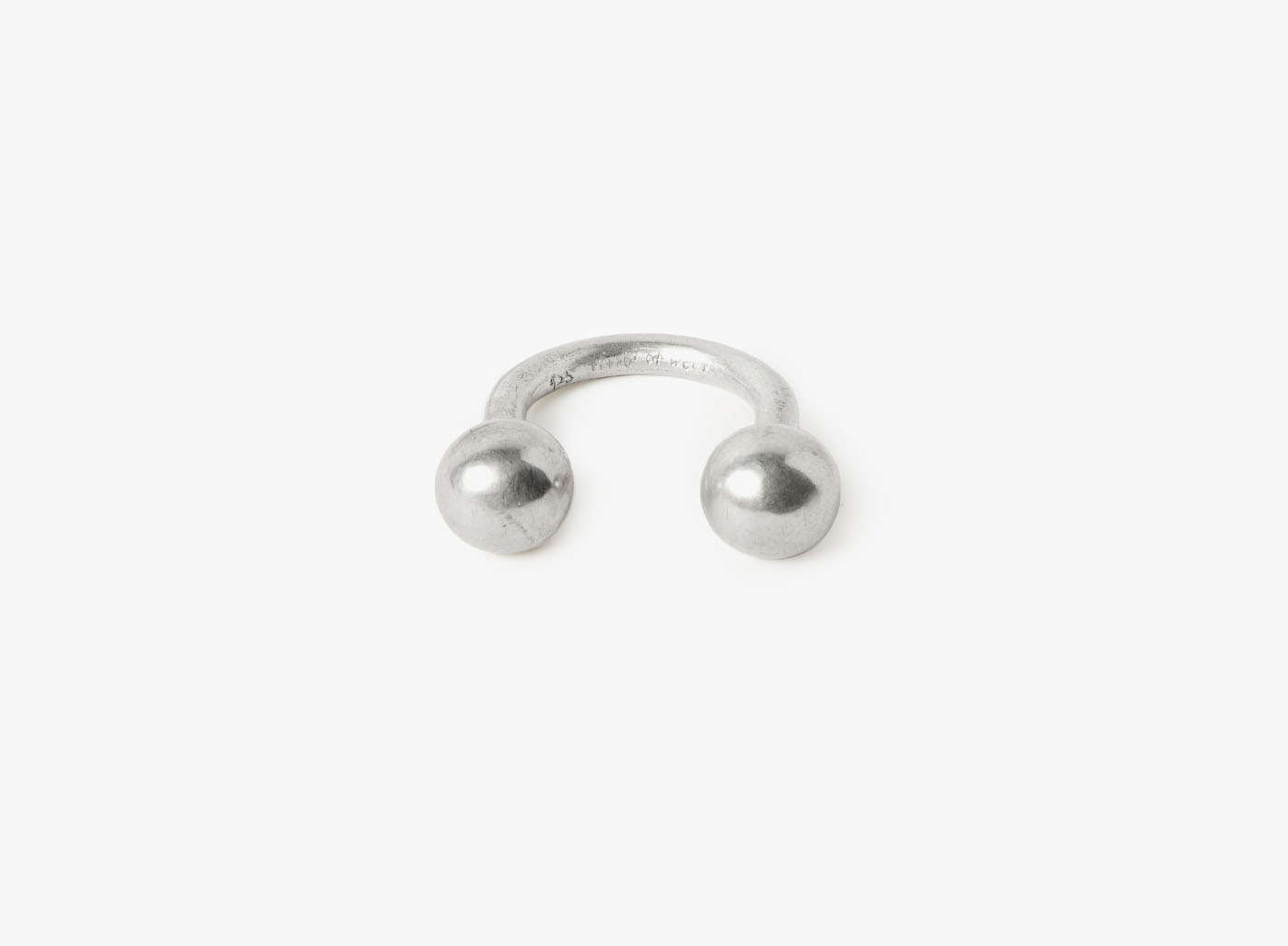 Image of 10mm Double Sphere Ring