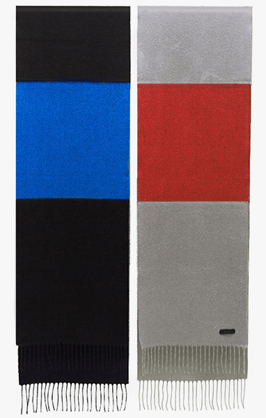Image of Color Block Scarf