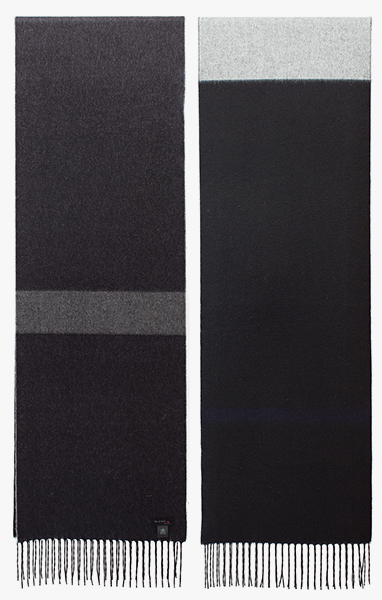 Image of Black / Grey Scarf