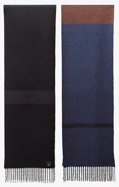 Image of Navy/ Black Scarf