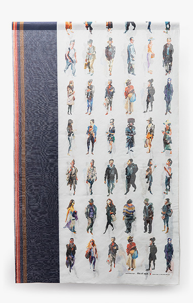 Image of Marcellus Hall Scarf