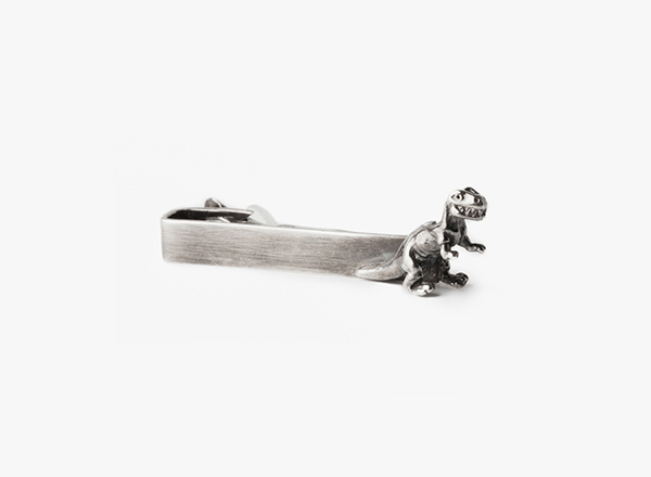 Image of Dinosaur Tie Bar