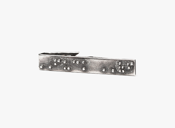 Braille Tie Bar