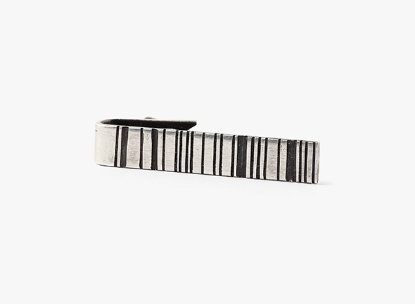 Image of Striped Bar Tie Bar