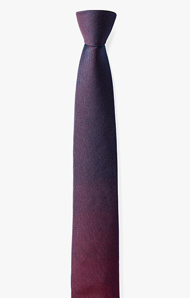 Image of Line Gradient Necktie