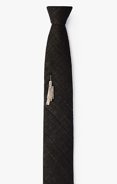 'Dirty Words' ID Tag Necktie