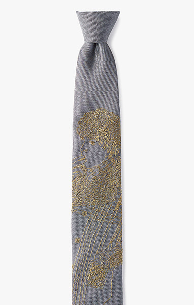 Image of Embroidered 'Drag' Necktie