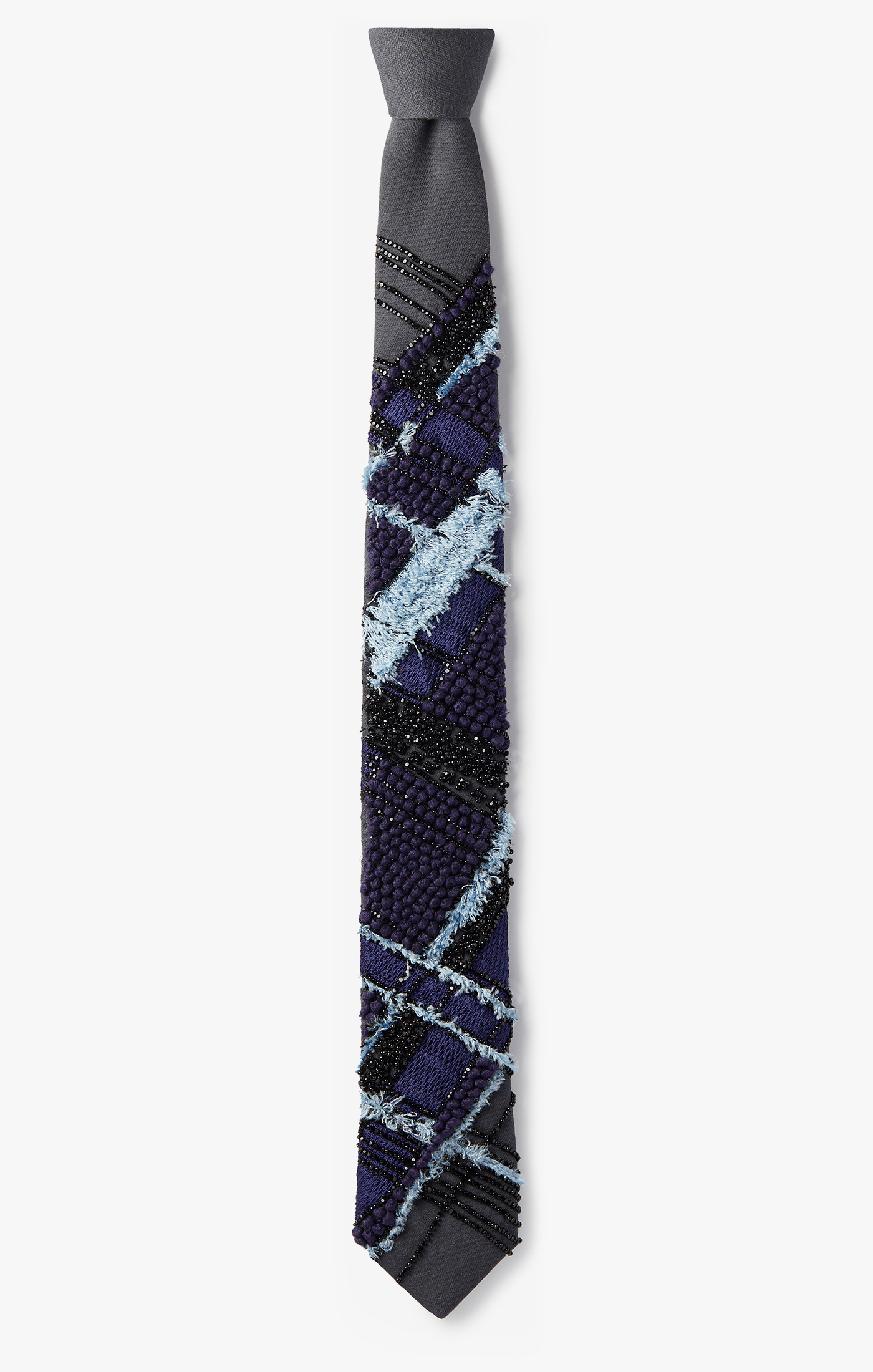 Image of Deconstructed Plaid Necktie