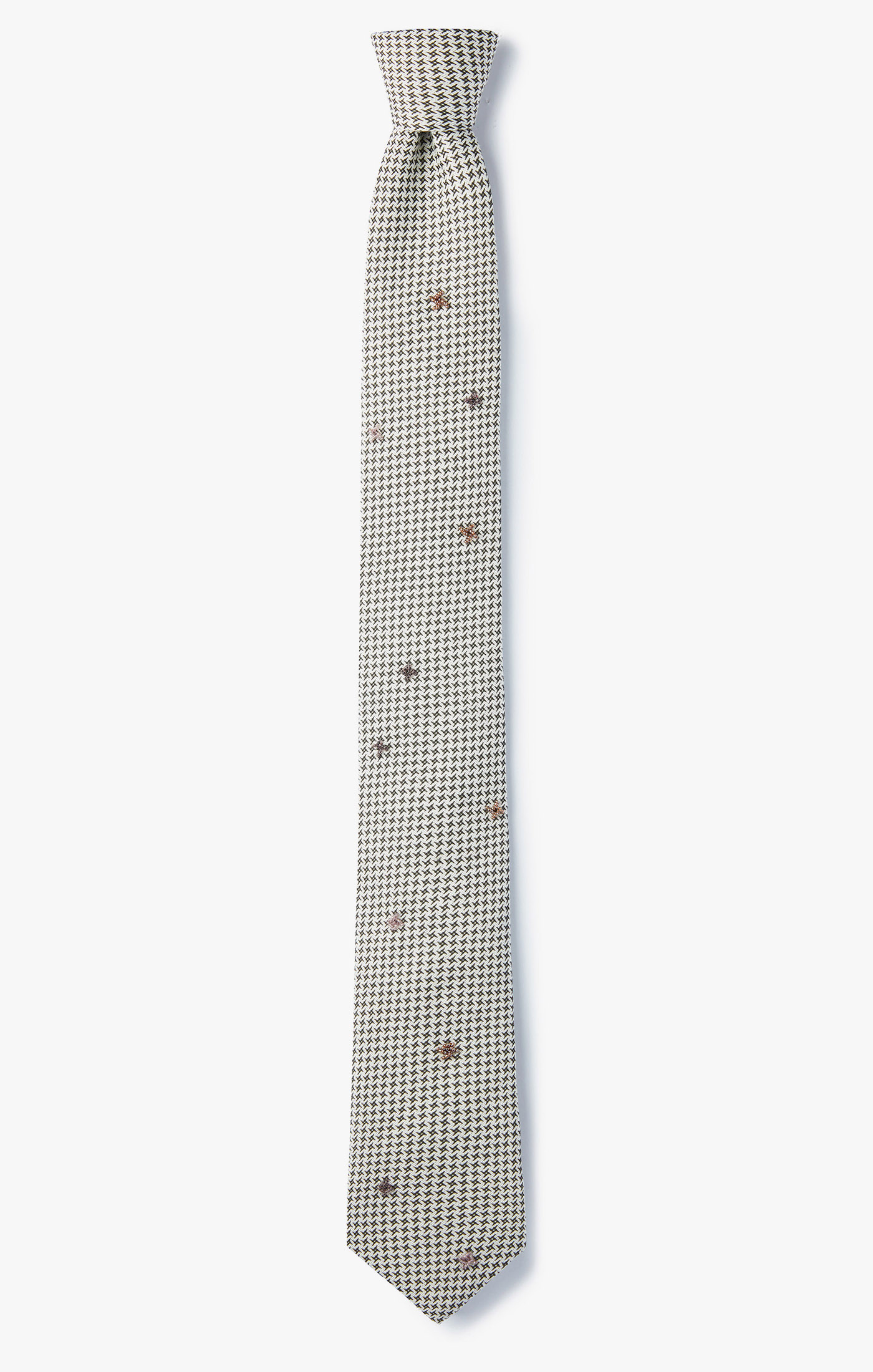 Image of Beaded Pinwheel Necktie