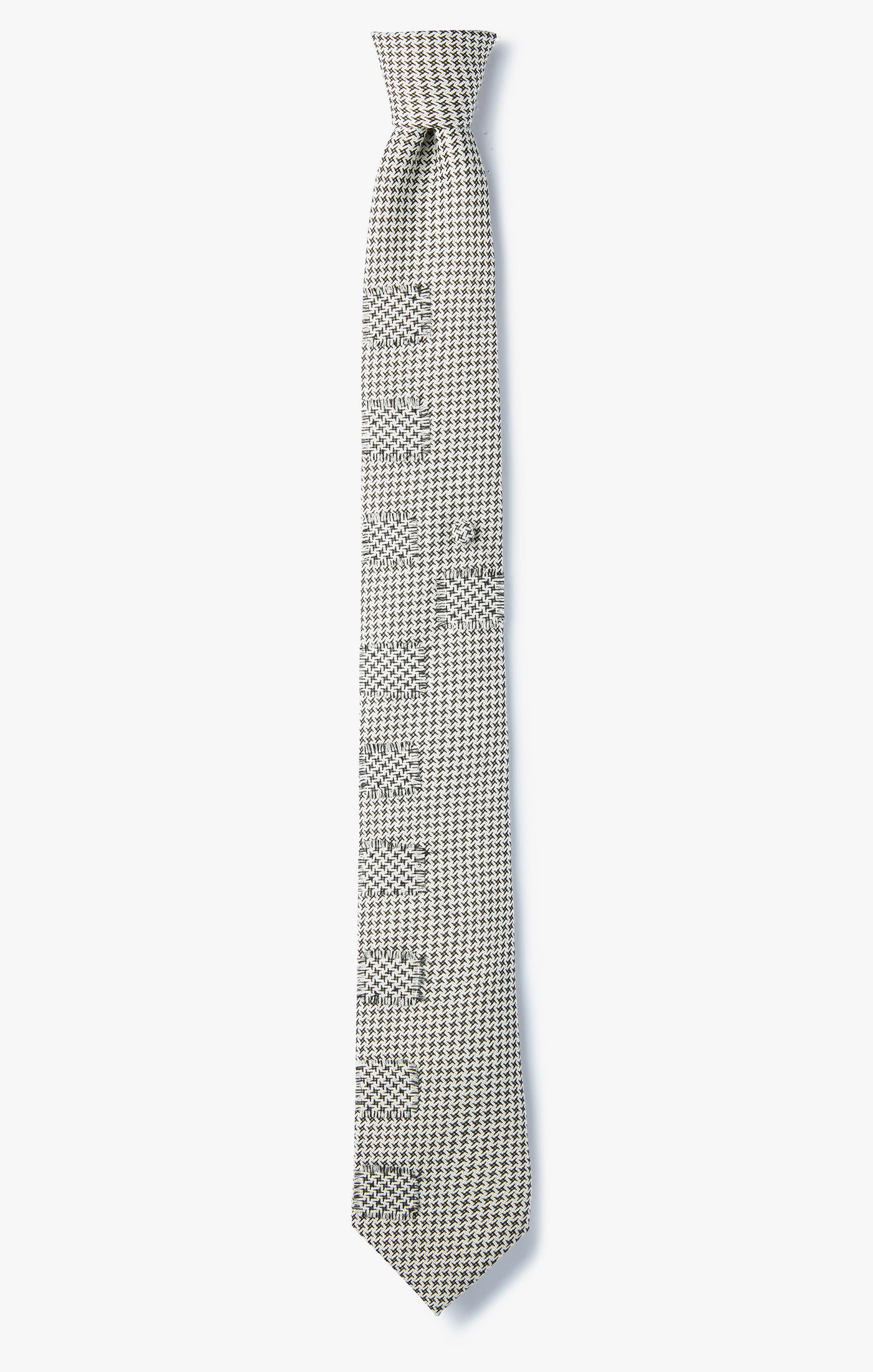 Image of Contrast Square Surface Necktie