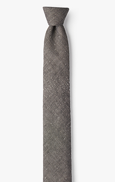 Image of Ivory Knotted Necktie
