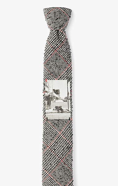 Image of M. Meisler / Photo On The Bowery Necktie